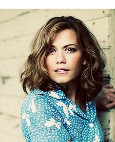 Bethany Joy Galeotti- plays Haley James Scott. So beautiful!