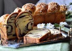 COZONAC CU NUCA SI RAHAT French Toast, Pork, Bread, Breakfast, Sweets, Recipes, Kale Stir Fry, Morning Coffee, Gummi Candy