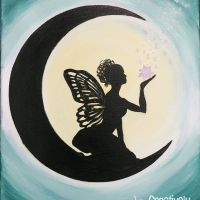 Fairy Moon | Creatively Uncorked | http://creativelyuncorked.com