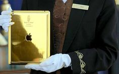 24-carat gold iPad