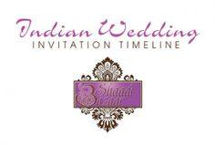 Indian Wedding Invitation Timeline | Southern New England Weddings and Shaadi Bazaar | Boston Area Wedding Planning | South Asian Wedding Planning | www.shaadi-bazaar.com