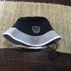 Era Brooklyn Nets Hardwood Classics Black Top Bucket Hat Large L  a709198d6152