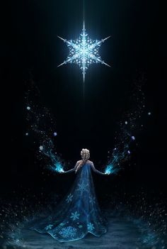 Elsa the snow queen from Disney's Frozen