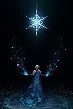 Elsa the snow queen from Disney's Frozen