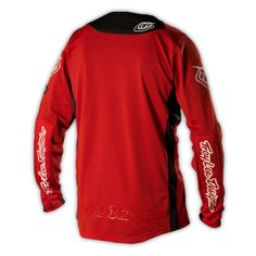 2014 Troy Lee Designs SE Pro Bike Cycling Jersey - Red