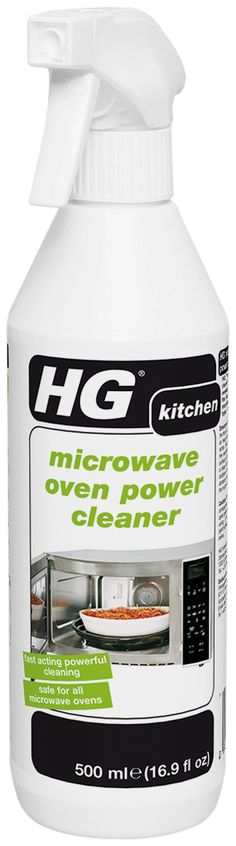 HG Problem Solvers - HG Microwave Oven Power Cleaner. What the best way to get your microwave sparkling for Thanksgiving and the Holiday??? A product from HG of course!   An essential, powerful everyday spray cleaner suitable for the easy removal of grease and encrusted food remnants in all types of microwave ovens.   (http://www.hgproblemsolvers.com/hg-microwave-oven-power-cleaner-16-9-fl-oz-500ml/)