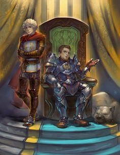 Warden and Alistair by Alteya.deviantart.com on @deviantART