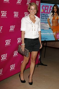Candace Cameron Bure Photo: SELF Magazine Celebration of the July 2009 L. Candice Cameron Hair, Candace Cameron Bure Family, Cute Summer Outfits, Cute Outfits, Candance Cameron, Dj Tanner, Intelligent Women, My Style, Full House