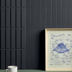 A series of white bodied wall tile comprised of opaque, geometric and three-dimensional surfaces. House Tiles, Wall Tiles, Biscuit Color, Stone Blocks, Futuristic Interior, Kitchen Room Design, Wall Installation, Ravenna, Color Tile