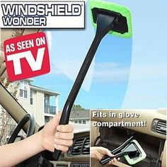 Windshield Wonder Car Window Cleaner