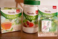 About stevia-sweeteners