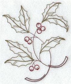 Machine Embroidery Designs at Embroidery Library! - Holly