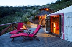 PORTUGAL - Algarve - Camping in Jurten ab 10 EUR, Eco-Lodge in schöner Naturlandschaft | travel-friends.com