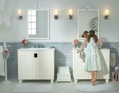 Sweet bathroom! If you want help renovating a bathroom, contact ER Plumbing in Charlotte NC for help.