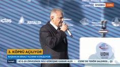 Başbakan, Yavuz Sultan Selim Köprüsü açılışında konuştu