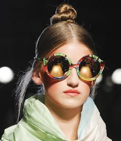 Fashion & Lifestyle: Tsumori Chisato Sunglasses Spring 2013 Womenswear