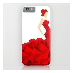 The Dancer (flamenco) iPhone 6s Case ($35) ❤ liked on Polyvore featuring accessories, tech accessories and iphone & ipod cases