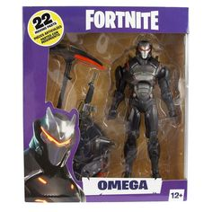 McFarlane Toys Fortnite Series 2 Omega Action Figure for sale online Figurines D'action, Harvesting Tools, Robot Animal, Game Of Survival, Epic Games Fortnite, Wrangler Shirts, Marvel Legends Series, Classic Comics, Sideshow Collectibles