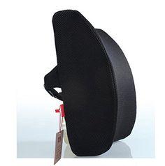 Liebe Startseite Memory Foam 3D Ventilative Mesh-Lordosenstütze Kissen / Rückenkissen / Stützkissen hilft der Lendenwirbelsäule und Kreuzbein-Bereich der Wirbelsäule und trägt zur Förderung Gute Haltung Während Sitz- Hervorragend geeignet für Haus, Büro, Auto und Wheelchairs- Größe: 13.4 '' * 12,6 '' * 4 '' (Black) Love Home http://www.amazon.de/dp/B00RX685QK/ref=cm_sw_r_pi_dp_kq3gwb0478MT4