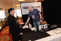 Tom Silverman takes a moment to chat with #HDTracks #NMS2013