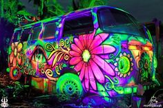 Peace & Love.... I think I took a trip in this van many moons ago.... Or was it a dream....a dream in living technicolor....