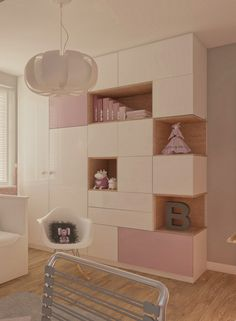 Nursery girls Pastel children wallpaper Shelf Room-For-Kids The post Decoration tip Nursery walls with butterflies shape themselves appeared first on Woman Casual. Bedroom Wallpaper Pastel, Kids Room Wallpaper, Children Wallpaper, Girl Nursery, Girl Room, Wallpaper Shelves, Ideas Dormitorios, Shelves Above Toilet, Butterfly Nursery