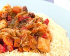 cuscús con pollo y verduras Grains, Rice, Meat, Chicken, Food, Dishes, Middle Ages, Entrance Halls, Meals