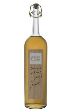 Grappa Barrique Millesimata, Jacopo Poli, Italy.