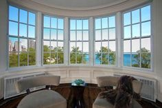 View From Living Room of Oprah's Chicago home - I love the view