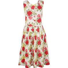 Beautiful summery style from Cath Kidston....I just want to wear this to a garden party!