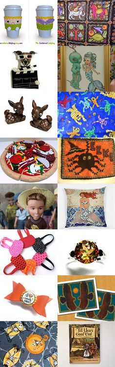 The Land of Fantasy by Virginia Soskin on Etsy--Pinned+with+TreasuryPin.com