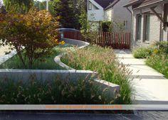 Front Garden Design by Van Sleeuwen Hoveniers Front Gardens, Small Gardens, Outdoor Gardens, Hard Landscaping Ideas, Modern Landscaping, Hardscape Design, Garden Paving, Parcs, Garden Structures