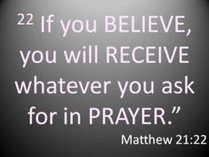 just have that FAITH