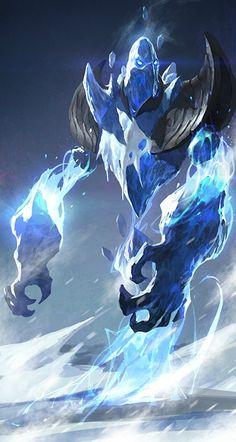 Titan Gélido Un monstruo que manipula el hielo encarcelado para evitar la destrucción que crea Peligro 10