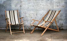 vintage beach chair 70's