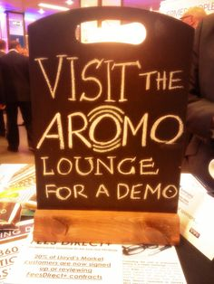 Stop by for a demo of Aromo! #XLMC