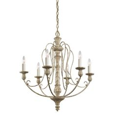 Kichler Hayman Bay 6 Light Chandelier & Reviews | Wayfair
