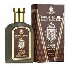 Truefitt & Hill Spanish Leather Cologne by Truefitt & Hill. $75.00. Rich and deep fragrance. Spicy top notes on a woody and leathery base. Long-lasting. Deep, masculine scent. Rich and deep, yet subtle, Spanish Leather is a blend of spicy top notes sitting on a woody and leathery base. 3.38 fl oz