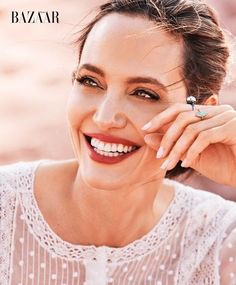 As Harper's Bazaar celebrates its 150th anniversary, Jolie shares her thoughts on women's rights and our responsibility toward the environment.