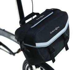 Dahon Bolsa Delantera Computer Bag Incluye Set De Accesorios Para Instalación Valet Truss y Quick Coupler Color Negro