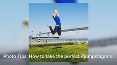 "Photo Tips: How to take the perfect #jumpstagram!. Have you ever wondered how Instagram users get those perfectly in-focus #jumpstagram photos? Or how to capture a jump at its highest point, so it looks like the jumper is flying? Nope, it isn't with a fancy DSLR or trampoline ...   Check out these tips from Instagram's Community team and put your newly acquired knowledge to use! Just don't forget to add the #jumpstagram hashtag to your Instagram images.  Music - "":P"" by Roglok…"