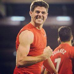 Steve Gerrard  Liverpool FC Steven Gerrard Liverpool, Ynwa Liverpool, Liverpool Football Club, Football Team, Premier League, Stevie G, Captain Fantastic, You'll Never Walk Alone, World Championship