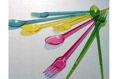 3ways chopsticks.      スプーンとフォーク、箸が1つになった「3WAY chopsticks Spiral」。ものぐささんにも奨励したいアイテムです。「...