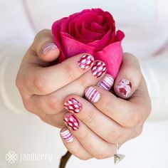 "Mother's Day gift set nail wraps. Plus Ruby lacquer! Order here under ""Mother's Day"":  http://www.aubreymueller.jamberrynails.net/shop"