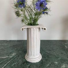 Greek column Ceramic vase | Minnie-Mae Stott Studio