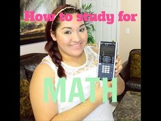 How to study for math - YouTube tips for college high school gear up