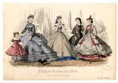 Women 1864, Plate 059 :: Costume Institute Fashion Plates