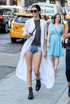 Kendall Jenner rocking the hottest new combination. Find out what it is, today on chicityfashion.com!