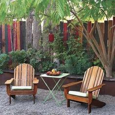 like this idea � using old fence panels.
