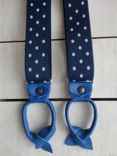 BIANCO UOMO 3.5 cm a bottoni a forma di Y REGOLABILE Bretelle per pantaloni bretelle